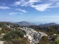 Tolle Ausblicke am Tafelberg