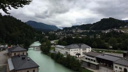 Blick über den Ort Berchtesgaden