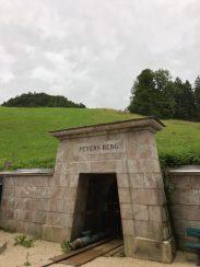 Der Eingang zum Petersberg Stollen