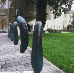 Kunstwerk in Salzburg von Erwin Wurm