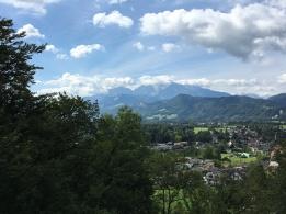 Ausblick vom Hellbrunner Berg