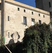 Street Art in Breslau auf der Stundenten Insel