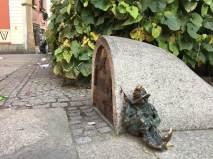 Zwerg in der Altstadt von Breslau
