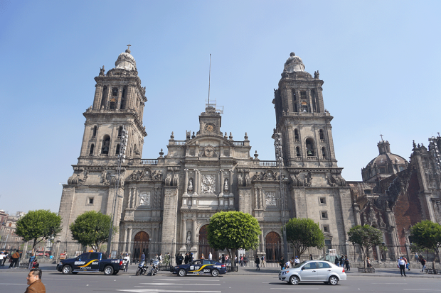 Kathedrale in Mexico City