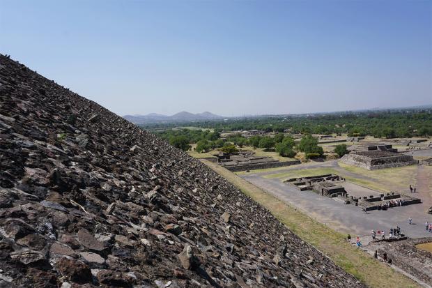 Pyramide in Teotihuacan