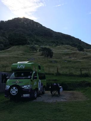 Camper in Neuseeland