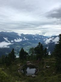 Ausblick vom Graukogel in Bad Gastein