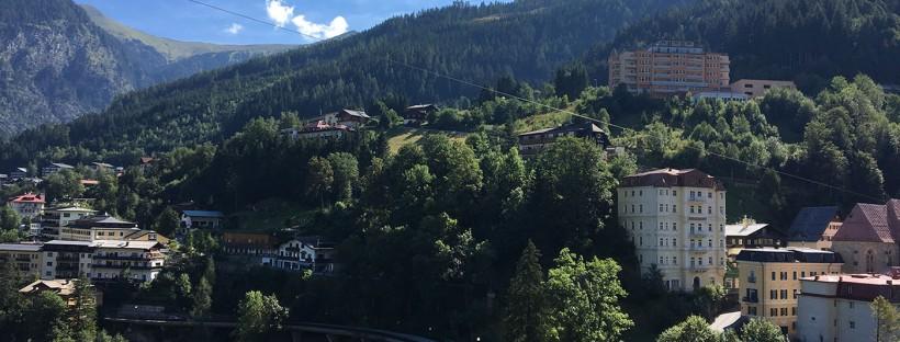 Blick über Bad Gastein